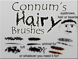 Connum's Hairy Brushes by Connum
