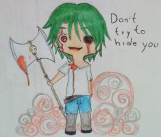 Do not try to hide you by Broken-Soul-Ghost