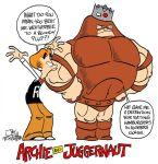 ARCHIE AND JUGGERNAUT by JayFosgitt