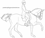 Matine Lineart by EquineLineart