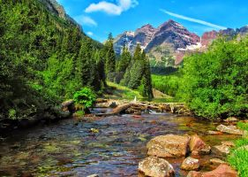 Maroon Bells, Aspen, Colorado. USA Richard Hicks by richardhicks