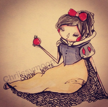 Snow white by chriissymoon