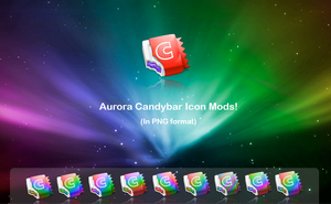 Aurora CandyBar icon Mods by GeekGod4