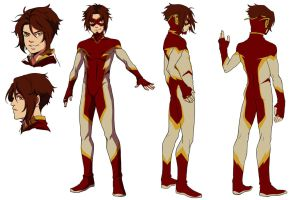 Impulse-Bart Allen by onlyfuge