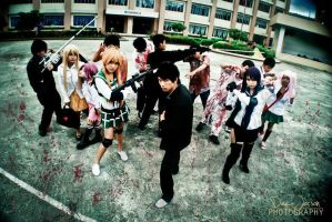 High school of the dead cosplay by YumiLyra