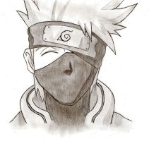 Kakashi Hatake by cheshire5