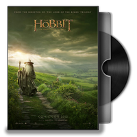 The Hobbit  An Unexpected Journey Folder Icon ver2 by prestigee