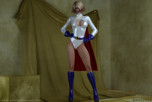 Power Girl by NovaDigitalArt