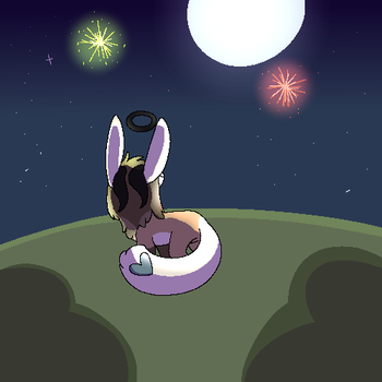 Look at the Fireworks Fly! by GRUMPYGAY