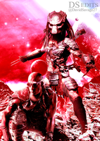 Riddick X Predator by ultimate-savage