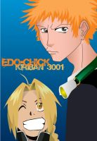 Kiriban 3001:Ichigo and Ed by Vashtastic