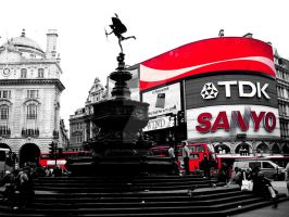Piccadilly Circus, London by TheLovingKind89