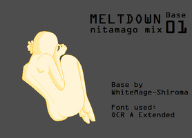 Meltdown Miku Base 1 by WhiteMage-Shiroma