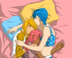 OCs - Cuddle Puddle by fortheloveofpizza