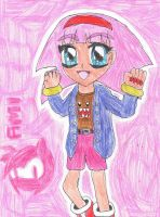 Amy Rose - Humanized (ver 1.0) by Dengen-Toshiko
