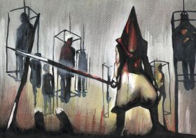 Pyramid Head by PoisonousFox