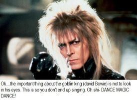 David Bowie Goblin King by countercharm