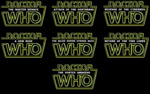Doctor Who / Star Wars titles parody by DoctorWhoOne