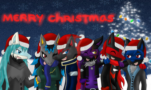 Merry christmas and a happy new year by Kuro-No-Yuki