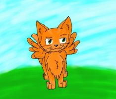 Kitty with Wings by pokemonpuppy1