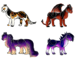 Sketchy Kitten Adopts || OPEN by Icy-Hearts-Designs