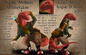 DnD Character Sheet: Mobius by TheBoundlessTibex