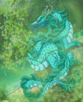 paco the water dragon by Ashley8977