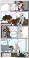 SecuriTale: Life at the Skeleton Household 05 by tekitourabbit