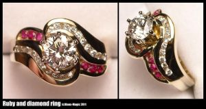 Feminine ring by Dans-Magic