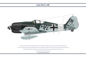 Fw190A8 JG3 1 by WS-Clave