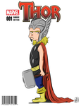 The Almighty Kid Thor by xxiiCoko
