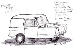 3 WHEELED CAR oh noes. by kd99