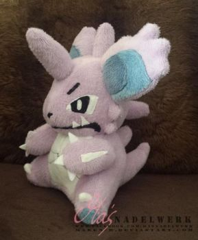 Nidoking plushie by maren-B