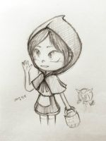 Little Red Riding Hoodand Big Bad Wolf by summilly