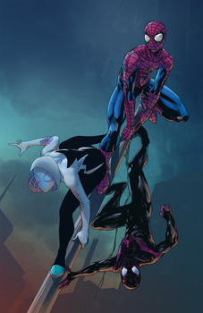 Spiders Collab by ParisAlleyne