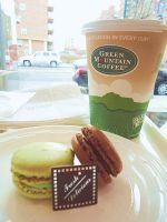 Coffee and Macarons by bentobear