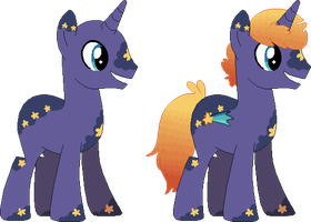 what is it with me and space horses by FLU0URITE