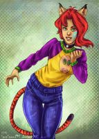 Tiger by The Tail! by SaraSaeed95! by BalloonPrincess