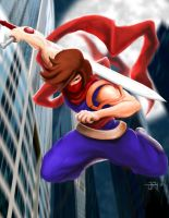 Strider Hiryu by Artiefacts