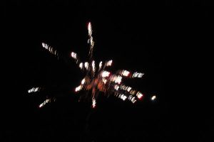 Fireworks, salute fireworks on a black background by Luba-Lubov-13