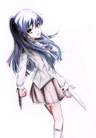 Angel Beats - Kanade by TMiracle