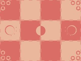 Warm Simple Checker pattern by morror