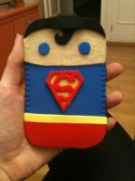 Superman Mobile Case by anapeig