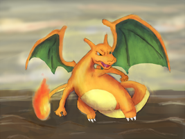 Charizard by Elycian