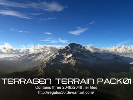 Terragen Terrain Pack 01 by Regulus36