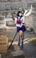 Lonely Sailor Saturn by LoveSenshi