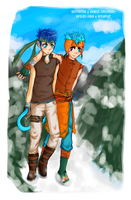 Fe10 - Ikey-Poo and Kittyman by Hopeless-Johan