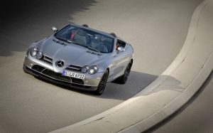 Mercedes SLR McLaren Roadster by TheCarloos