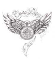 carpe diem tattoo commision by inkaddicted4life