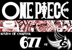 Review: ONE PIECE chapter 677 by FallenAngelGM